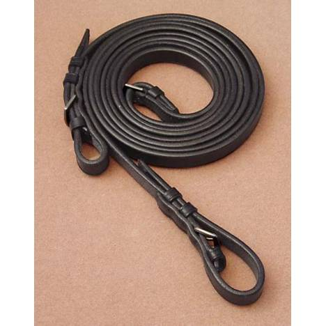 Dr. Robert Cook Bitless Bridle Plain English Leather Reins