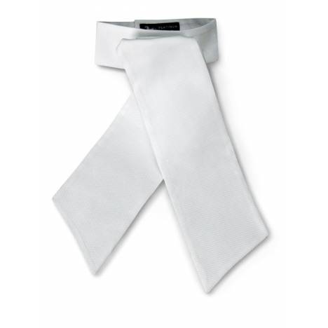 RJ Classics Ladies Platinum PreTied Stock Tie in Cotton Pique