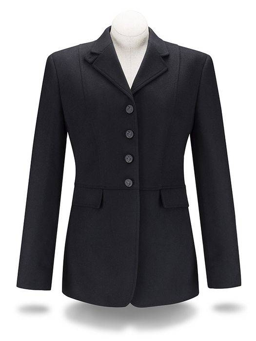 RJ Classics Platinum Melton Frock Coat - Ladies, Black