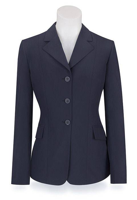 RJ Classics Extreme Softshell Show Coat - Girls, Navy