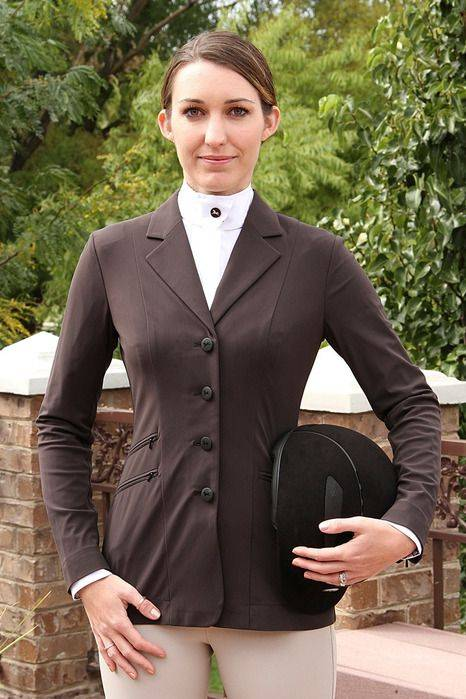 RJ Classics Xtreme Crossover Softshell Show Coat - Ladies, Brown