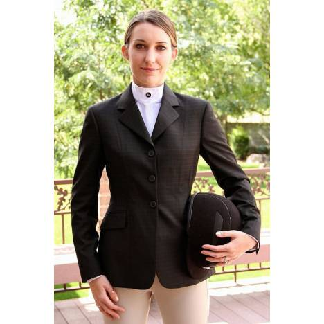 RJ Classics Essential Show Coat - Ladies, Black Plaid