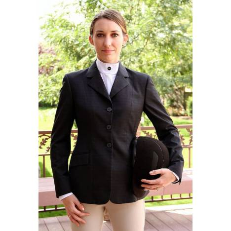 RJ Classics Essential Show Coat - Ladies, Navy Plaid