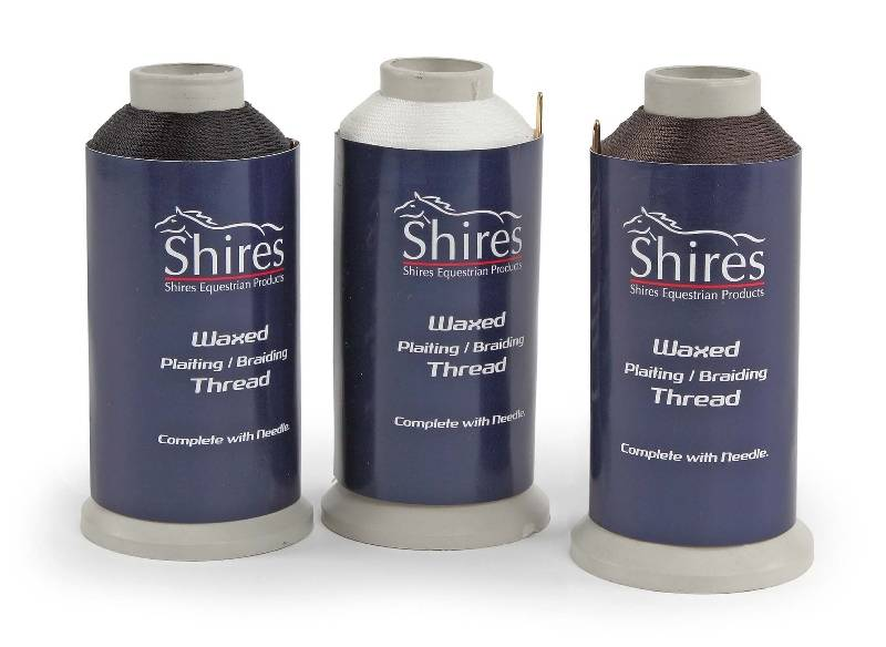 Shires Equestrian Waxed Braiding Thread