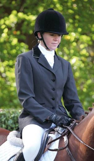 Shires Show Jacket w/ Velvet Collar - Ladies