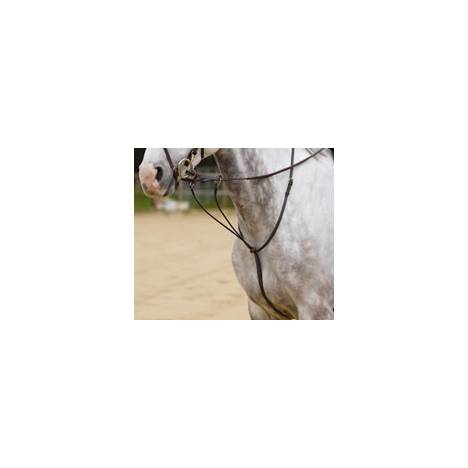 Shires Fancy Stitch Running Martingale