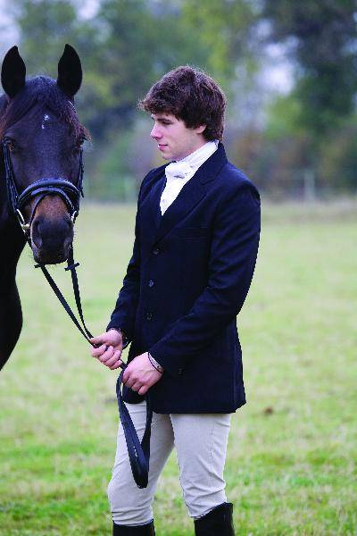 Outlet - Shires Equestrian Mens Cotswold Show Jacket, 42, Black