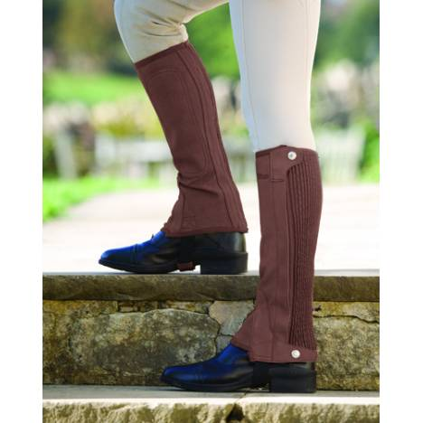 Shires Plain Half Chaps - Adult