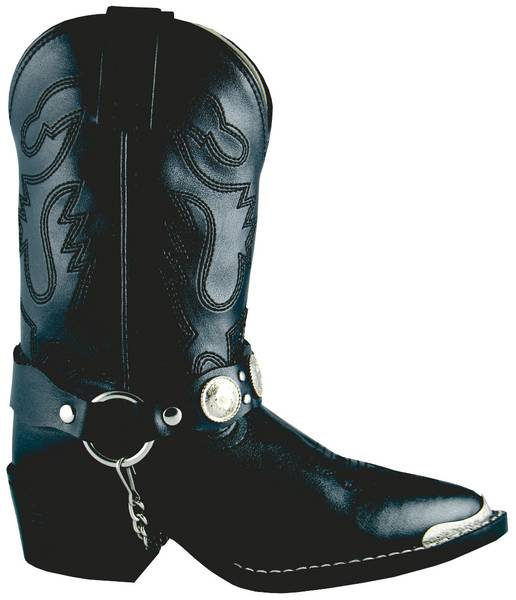 Smoky Mountain Youth/Teen Concho Harness Boots