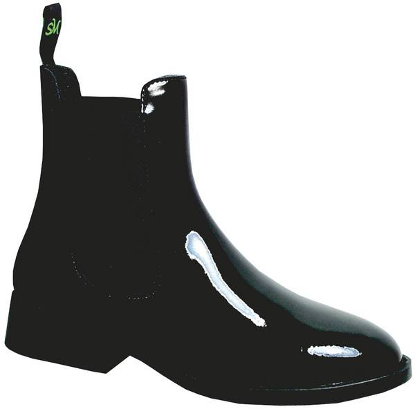 Smoky Mountain Youth/Teen Patent Leather Jodphur Boots