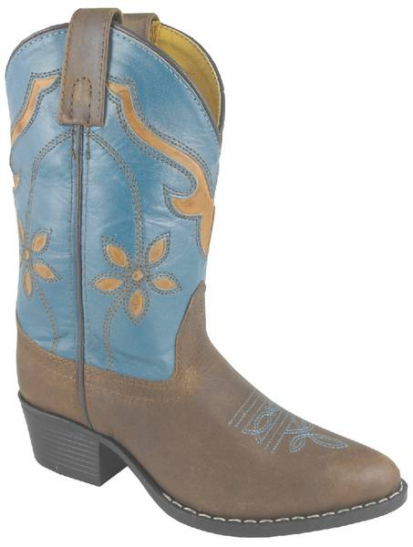 Smoky Mountain Youth Cactus Flower Boots