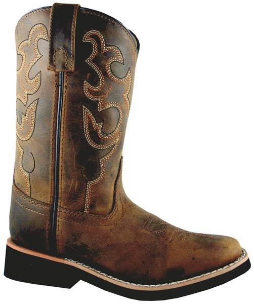 Smoky Mountain Kids Pueblo Square Toe Western Boots