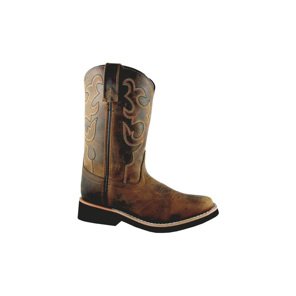 Smoky Mountain Youth/Teen Pueblo Square Toe Western Boots