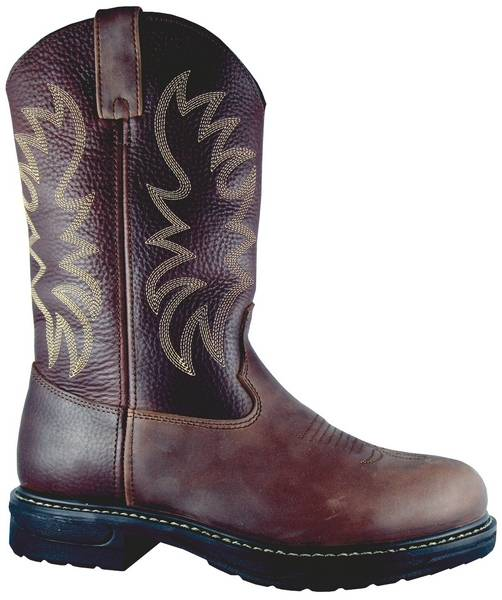 Smoky Mountain Mens Buffalo Work Boots