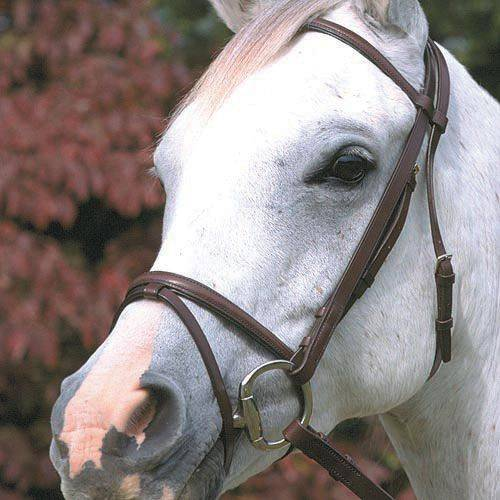 Stubben Lined Snaffle Bridle