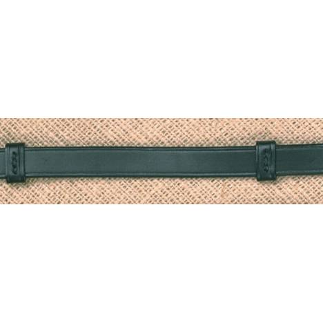 Stubben 5/8'' Plain Leather Reins with Stops