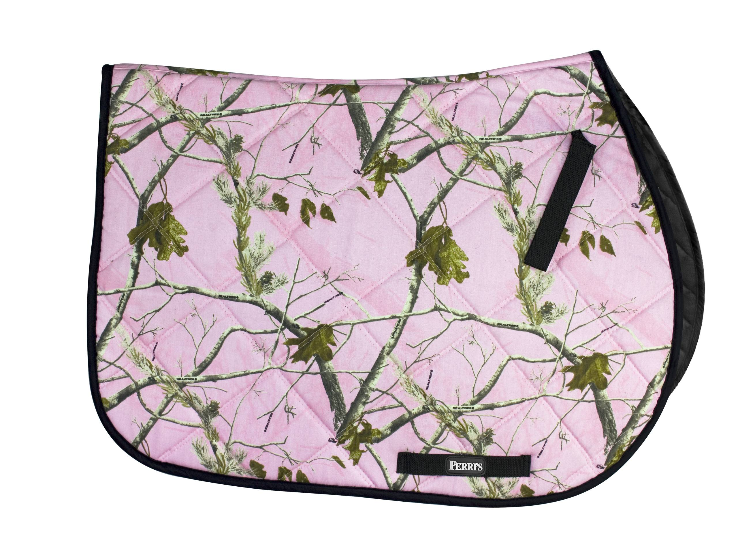 Perris Real Tree Pony Quilted Saddle Pad