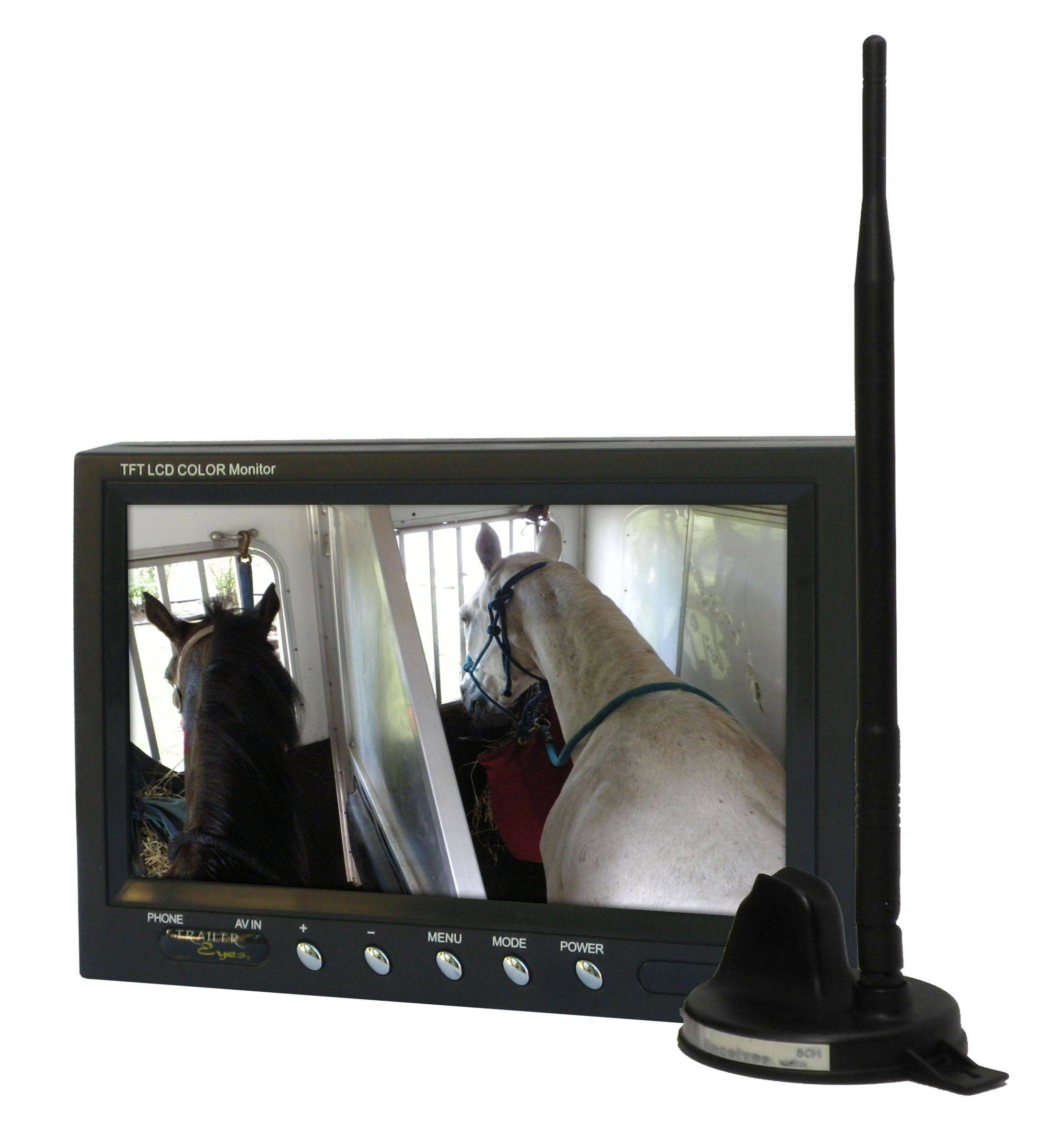 Trailer Eyes B2 Wireless Monitor Complete Set