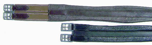 Thornhill Shannon Leather Girth Elastic End