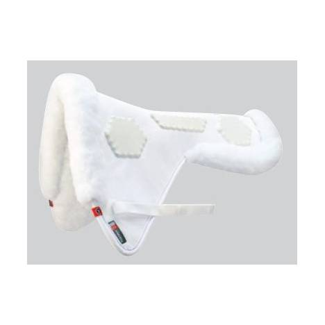 Matrix Ergonomic Dressage Woolback Half Pad with Hex Pro-Impact