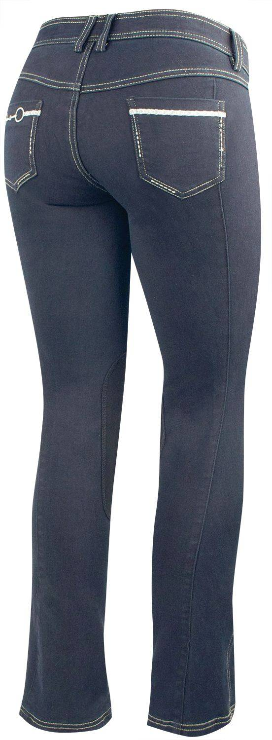 Irideon Bit & Reins Pocket Denim Breeches - Juniors/Tween