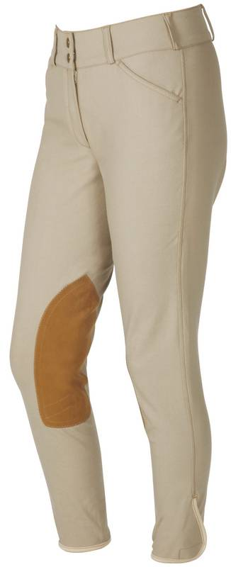 On Course Ladies Pytchley EuroSeat Low Rise Front Zip Breeches