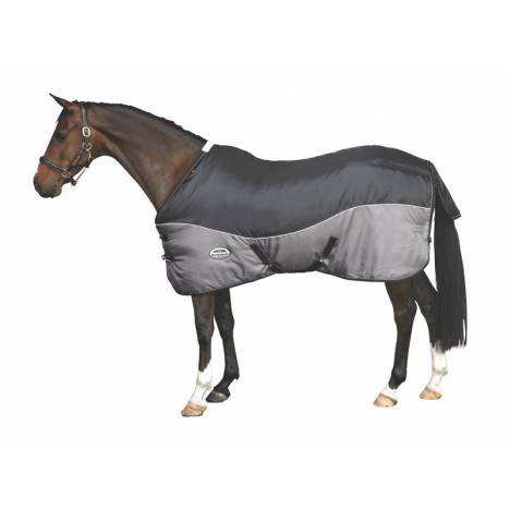 WeatherBeeta Smooth Quilt Heavy Standard Neck Stable Blanket with Belly Wrap