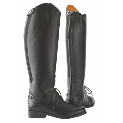 Saxon Ladies Equileather Field Boot with Elastic