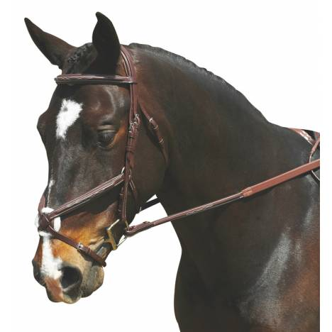 Collegiate Comfort Crown Padded Fig 8 Bridle