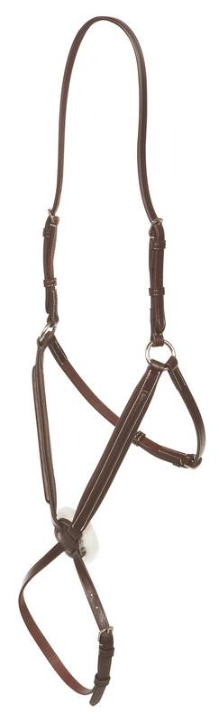 Collegiate Raised Padded Figure 8 Noseband