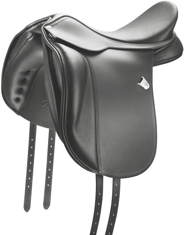 Bates Wide Dressage Flocked Saddle