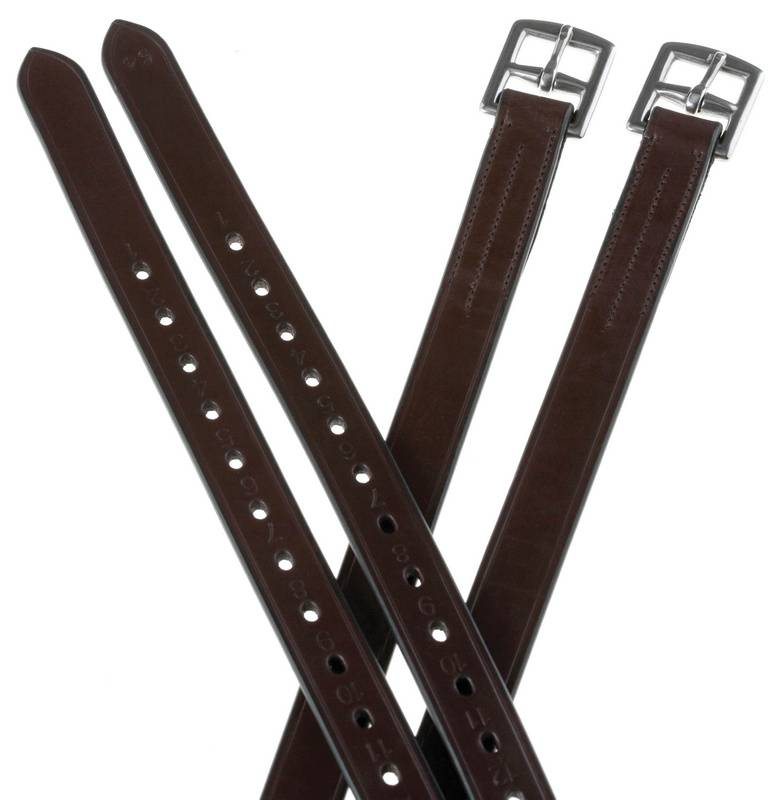 Collegiate 1/2 inch Hole Stirrup Leathers