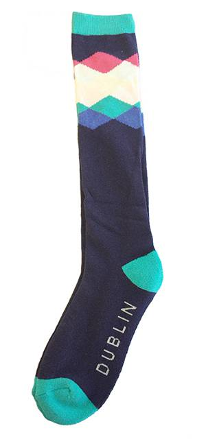 Dublin Diamond Socks