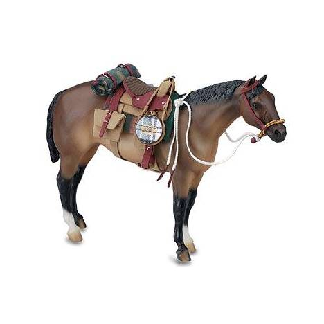 Breyer Traditional Man Made Western Riding Set