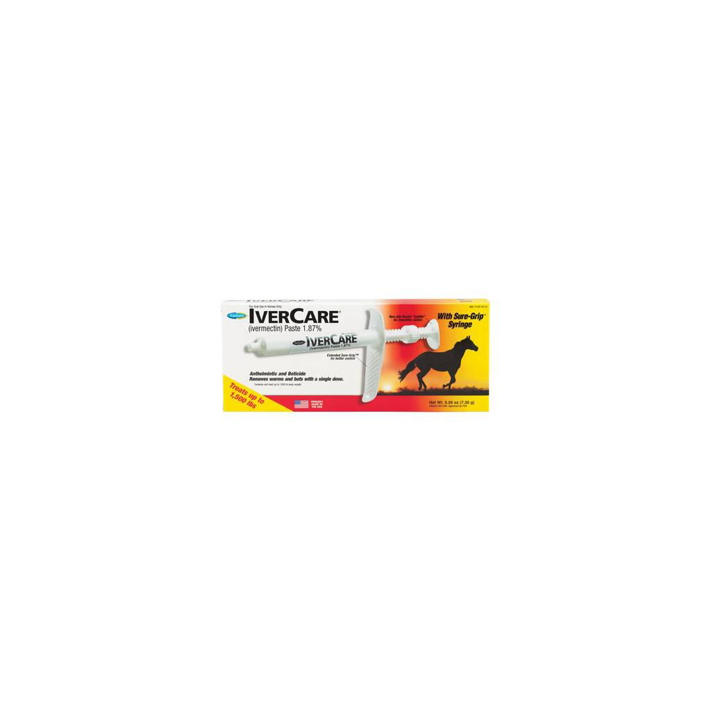 Farnam Ivercare Sure Grip Paste Horse Dewormer