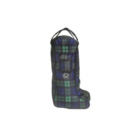 Centaur Classic Plaid Boot Bag