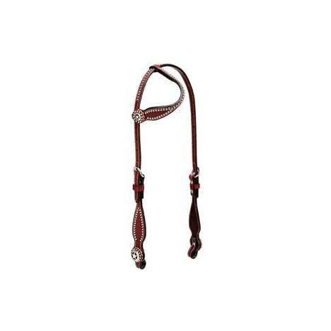 Weaver Texas Star Sliding Ear Headstall