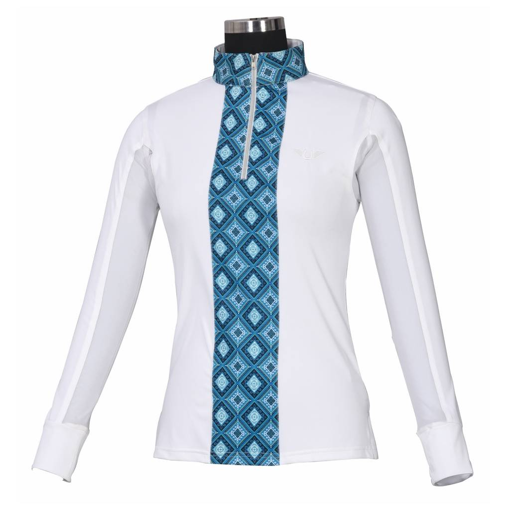 Tuffrider Athena Equicool Riding Shirt - Ladies