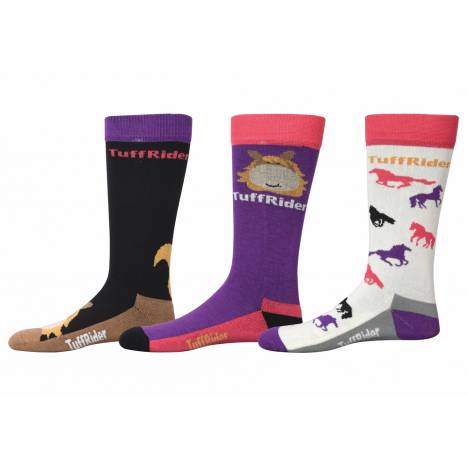 Tuffrider Asher Socks - 3 Pack - Kids