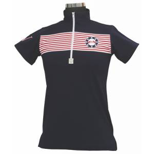 Equine Couture Patriot Polo Shirt - Ladies