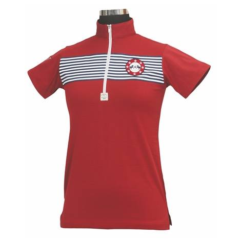 Equine Couture Patriot Short Sleeve Polo - Kids
