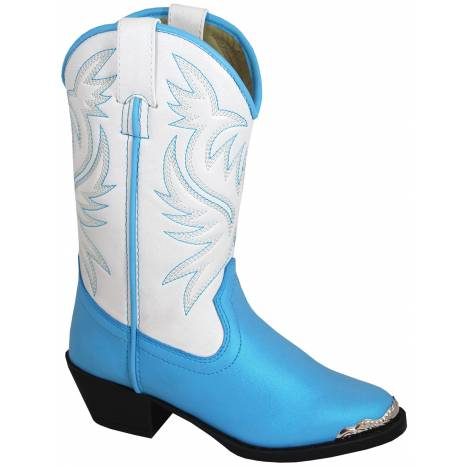 Smoky Mountain Lily Boots - Toddler - Blue/White