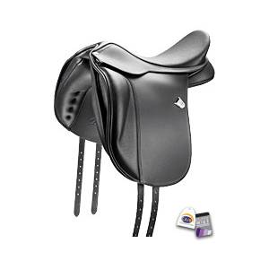 Bates Wide Dressage Heritage Leather CAIR Saddle