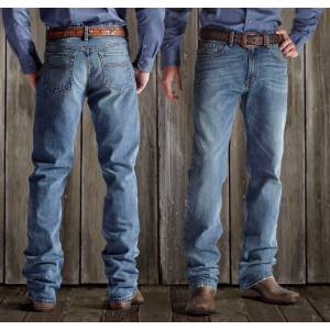 Ariat M2 Relaxed Straight Cut Jeans - Mens, Granite