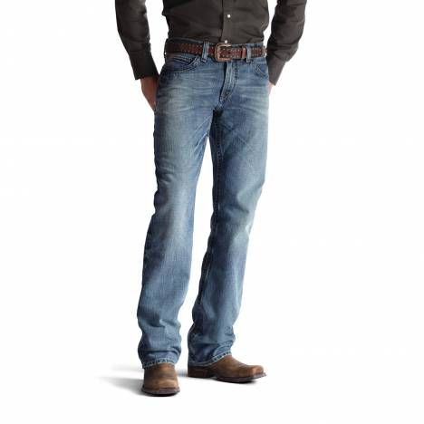 Ariat M4 Low Rise Jeans - Mens, Scoundrel