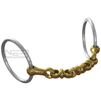 Neue Schule Waterford Loose Ring Bit - 14mm