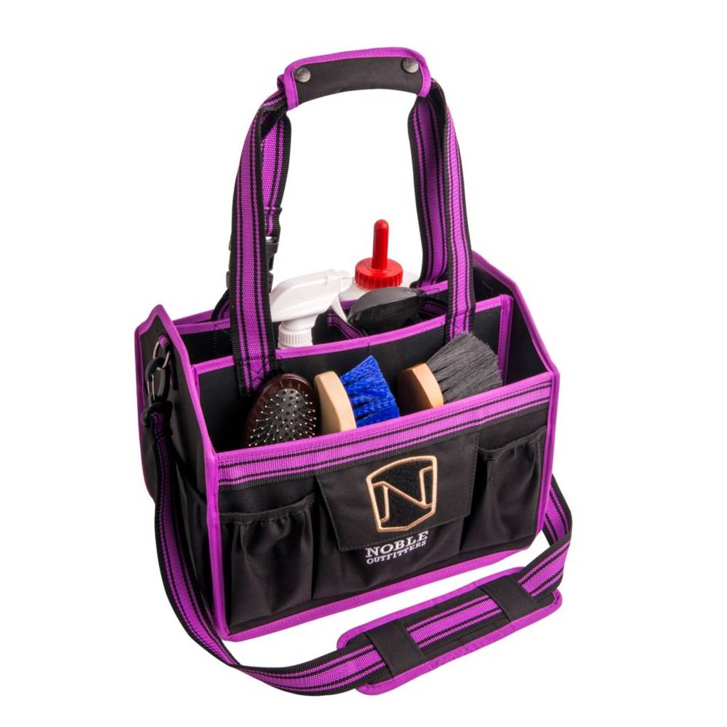 Noble Outfitters EQUINESSENTIAL Grooming Tote - Black Berry