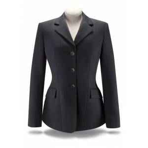 RJ Classics Diamond Show Coat - Ladies, Black/Lurex Stripe