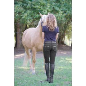 Irideon Verano Bit & Reins Denim Breeches - Ladies
