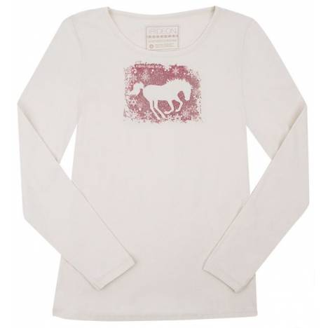 Irideon Snowflakes Long Sleeve Tee - Ladies